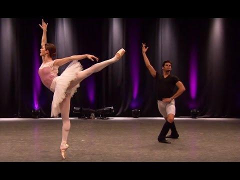 Marianela Nuñez and Thiago Soares rehearse