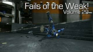 Fails of the Weak - Volume 29 - Halo 4 - (Funny Halo Bloopers and Screw Ups!)