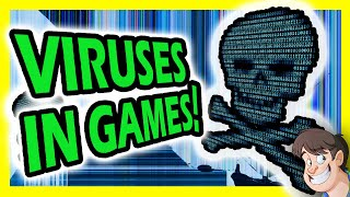 👾 5 Games You Never Knew Contained Actual Viruses & Malware | Fact Hunt