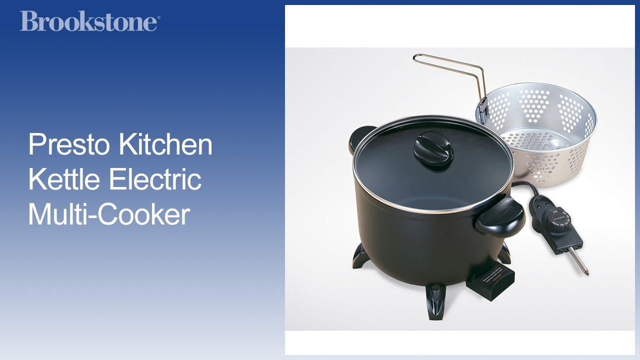 Presto Kitchen Kettle Electric Multi Cooker