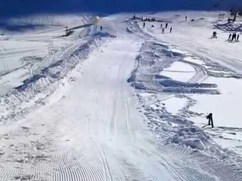 Une boule humaine tombe dans un ravin au ski   Buzz