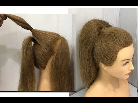 New Easy High Ponytail Hairstyle Trick : Beautiful Hairstyles thumbnail
