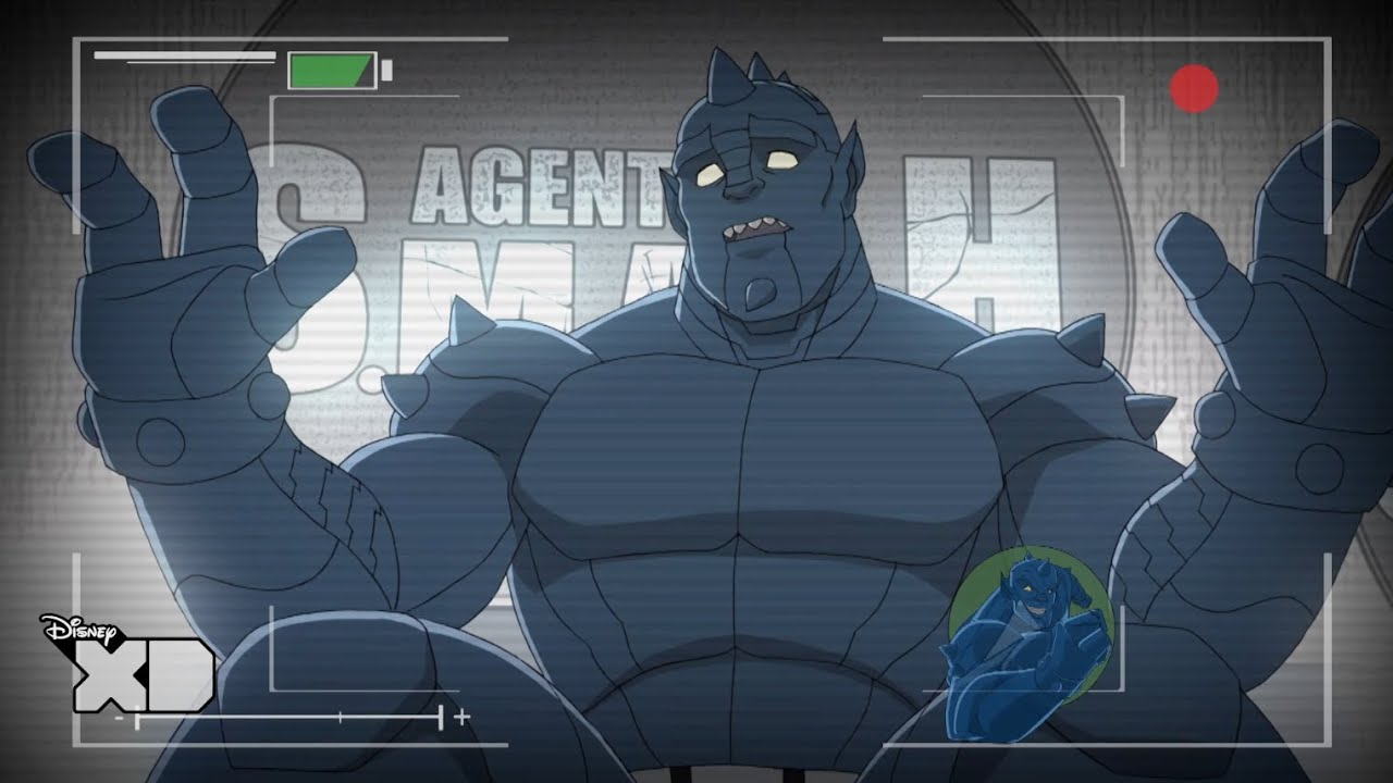 Hulk and the Agents of S.M.A.S.H - A-Bomb Catching Fail ...