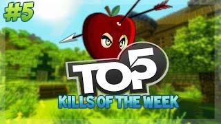 TOP 5 KILLS OF THE WEEK! - Minecraft Battle Mini-Game Top 5 Kills - POTION MADNESS! Week 5