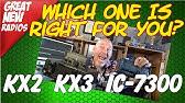 Yaesu 891 Vs Elecraft KX2 Compare! opinion - YouTube