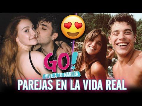 Go! Vive A Tu Manera - PAREJAS De Sus Protagonistas En La Vida Real