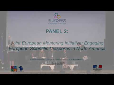 Panel 2: Joint European Mentoring Initiative: Engaging European Scientific Diasporas