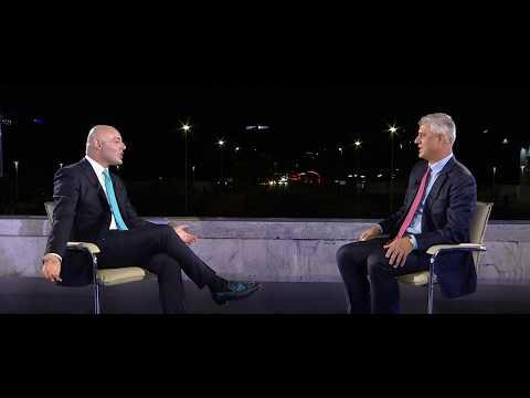 Opinion - 20 vite Opinion - Emision maratone - Intervista: Hashim Thaci! (07 shtator 2017)