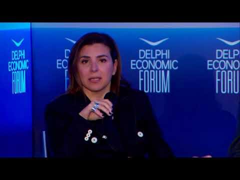 Peggy Antonakou   Delphi Economic Forum 2018