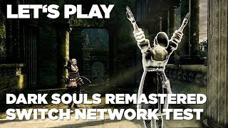 Hrej.cz Let's Play: Dark Souls Remastered Switch Network Test [CZ]