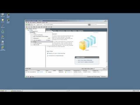 VMware VSphere: VM Management - Cloning/Templating