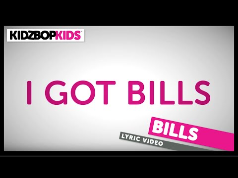 KIDZ BOP Kids – Bills (Official Lyric Video) [KIDZ BOP Greatest Hits] #ReadAlong