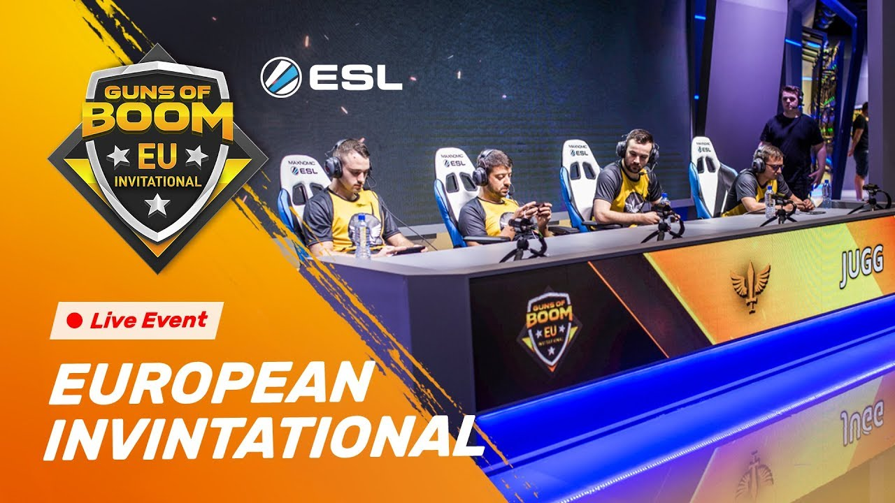 Guns of Boom EU Invitational | Katowice 2018 - ESL GO4
