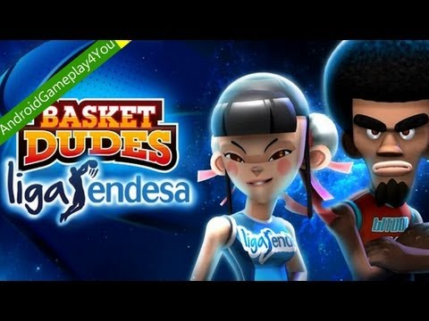 Basket Dudes Liga Endesa Android Game Gameplay [Game For Kids]