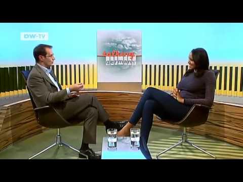Our guest on 27.11.2011 Cassandra Steen, Pop Singer | Talking Germany