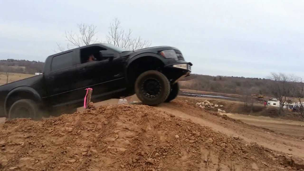 Ford Raptor Jump Gone Wrong At Rwp