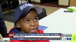Boy calls police on The Grinch