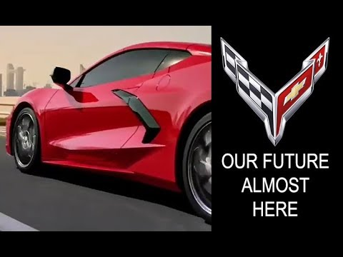 New Corvette Corvette Gift Chevrolet Corvette C8 2020 Accelerate Yellow Poster