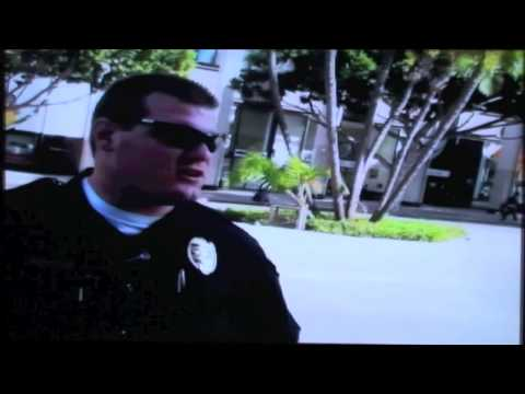 Libertarians Cop Blocking at a Peaceful Sit In of NBC San Diego for Presidential Debate Inclusion