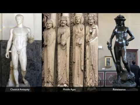 A brief history of representing of the body in Western sculpture