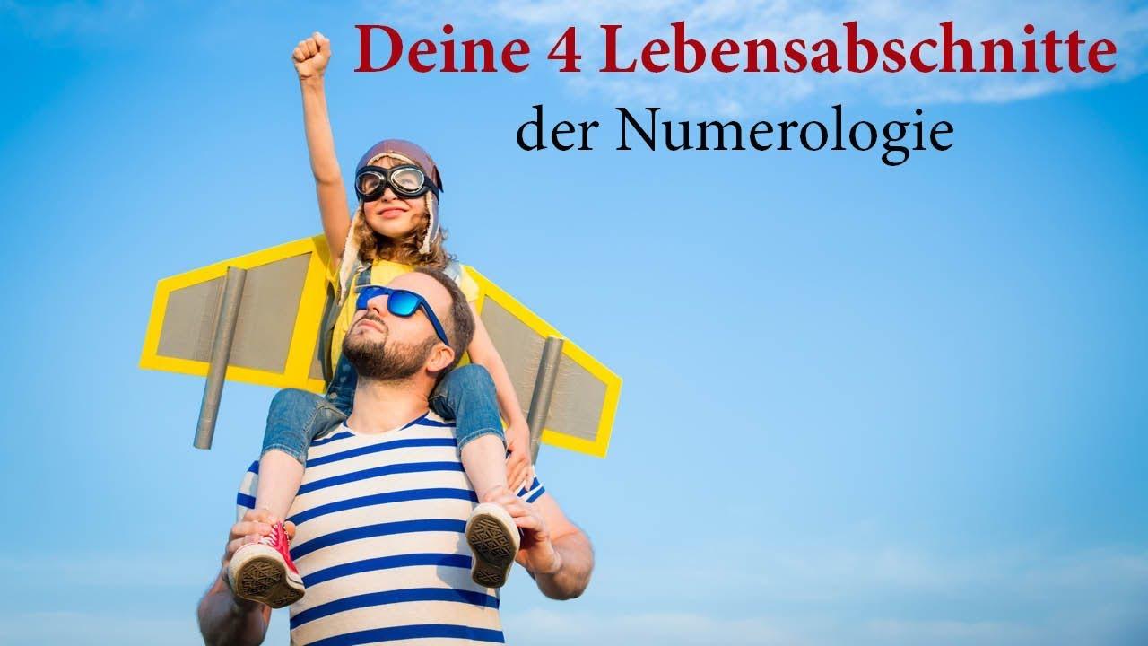 Die 4 Lebensabschnitte der Numerologie