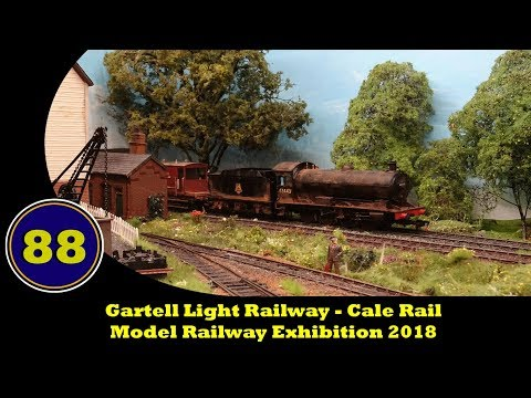 Gartell Light Railway - Model Railway Exhibition 2018 - 10/0