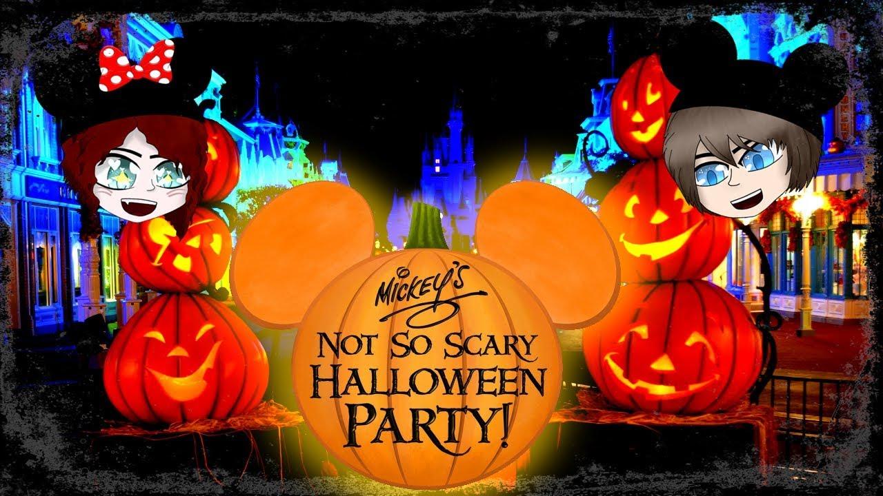 notsoscary halloween party walt disney world