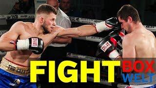 Alexander Rigas vs Miroslav Cembic - 6 rounds light heavyweight - 10.02.2018 - LEO's Boxgym, München