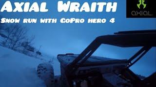 Axial 1:10 Wraith  premier essais