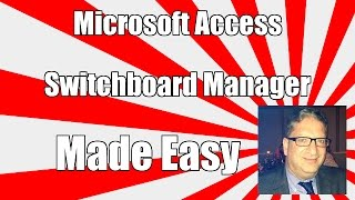 Access 2016 Switchboard Manager How to create a main menu in Microsoft Access 2007, 2010, 2013, 2016