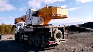 Обзор автокрана  Ивановец КС - 65740-6 г.п. 40 тонн. Видео-1.
