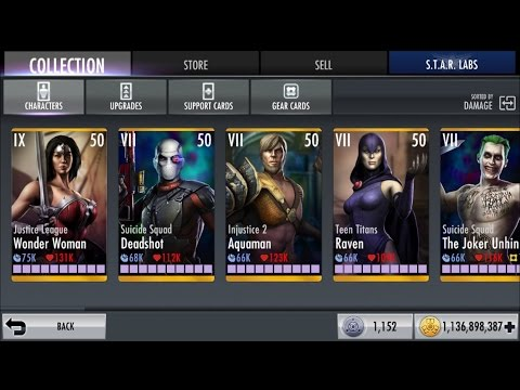 Hack injustice wbid account!!! over 1,000,000,000 coins!!!! for iOS
