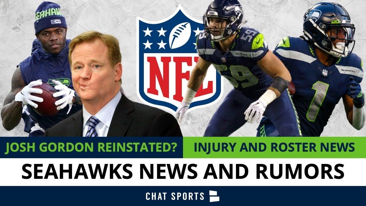 Seattle Seahawks Rumors: Josh Gordon Reinstated? Seahawks Injury News On Rashaad Penny, Dee Eskridge