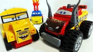 Мультики про МАШИНКИ ТАЧКИ 3 Лего Машинки Маквин Мисс Крошка Крус Рамирес Disney Cars 3 Lego