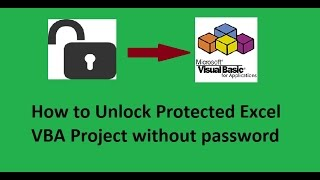 How to unlock Protected Excel VBA Project and Macro codes without password screenshot 4