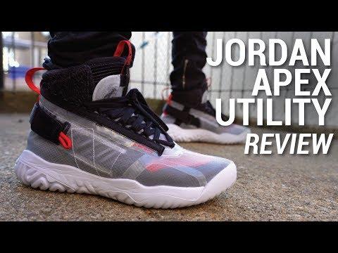 b11c5305327 Jordan Apex Utility Review & On Feet - YouTube