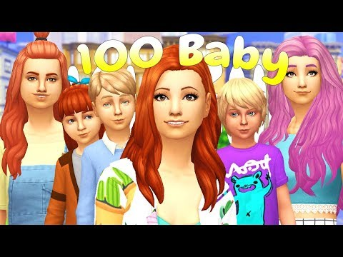 NEW YEARS BABY IS HERE!!! 100 BABY CHALLENGE | (Part 99) The Sims 4: Let's Play thumbnail