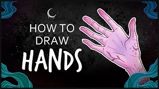 How to Draw Hands • Stylized Hand Tutorial