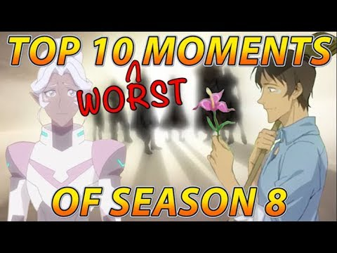 Download Top 10 WORST Moments of Voltron Season 8