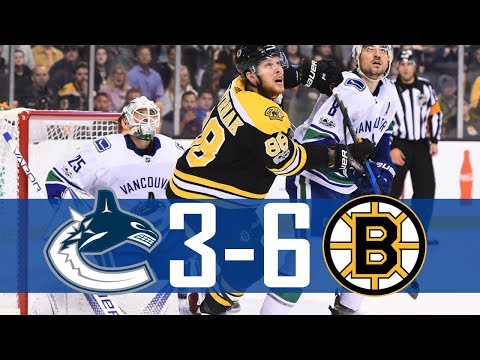 Canucks vs Bruins   Highlights   Oct. 19, 2017 [HD]