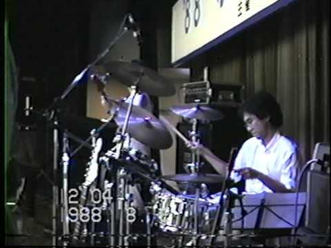 中里あき子 Rh M1 Drums 1988.8.2