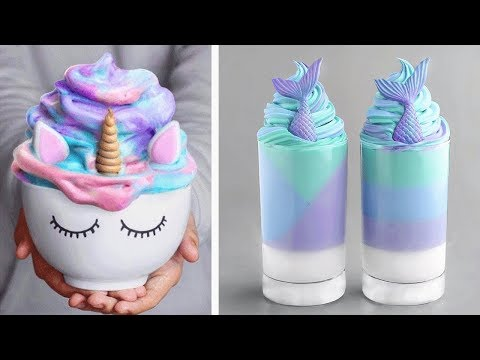 Most Satisfying Colorful Cake Decorating Ideas | So Yummy Dessert And Unicorn Cake For October