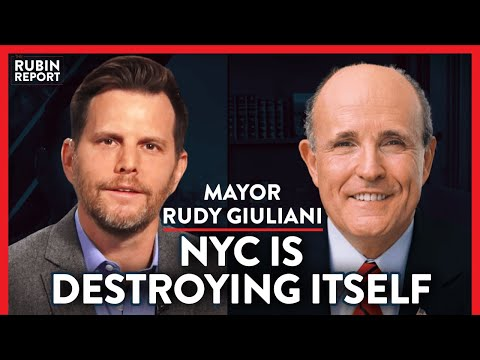 The NYC Exodus, CHAZ, & de Blasio's Incompetence | Rudy Giuliani | POLITICS | Rubin Report