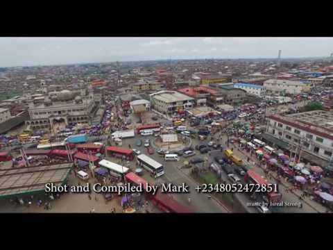 The city of Ikorodu, Nigeria