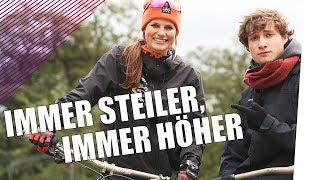 BMX-Profi Steffi Marth zeigt Reyst die MTB-Szene | follow me.reports