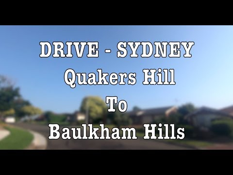 Drive | Sydney | Feb 2019 | Quakers Hill To Baulkham Hills