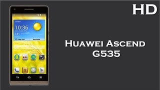 Huawei Ascend G535 come with 1GB RAM, 1.2 Quad Core, 2000mAh Battery, Android 4.3