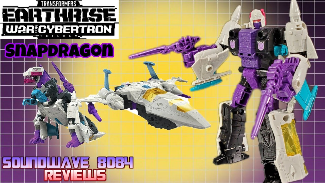 Transformers WFC Earthrise Snapdragon Review by Soundwave 8084