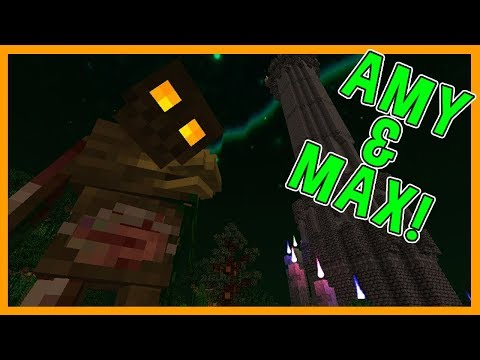 Amy & Max! Ep.41 INSIDE OUT MAN!   Minecraft   Amy Lee33