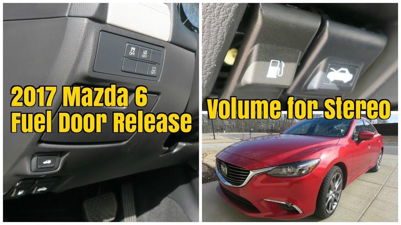 2017 mazda 6 fuel door release volume knob for stereo youtube Mazda Wheels 2017 mazda 6 fuel door release volume knob for stereo